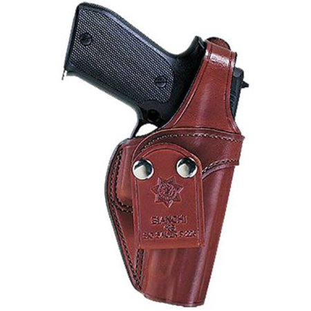 BIANCHI 3S PISTOL POCKET 9MM/40 AUTOMATIC BERETTA 92/96S LEATHER (Bianchi 3s Pistol Pocket Plain)