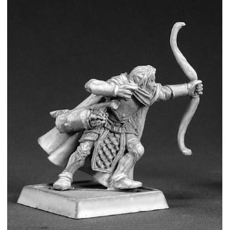 Reaper Miniatures Galdanoth, Elf Sniper #14481 Wood Elves Unpainted RPG D&D Mini