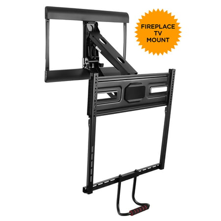 - Mount-It! Pull Down TV Wall Mount with Vertical Adjustable Handle for 43