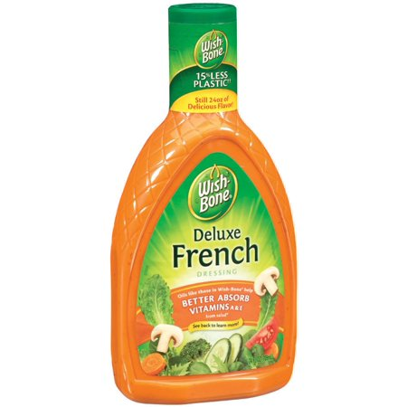 (3 Pack) Wish-Bone Deluxe French Dressing, 24 Fluid