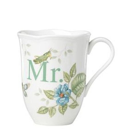 - Lenox Butterfly Meadow Dinnerware Mr. Mug