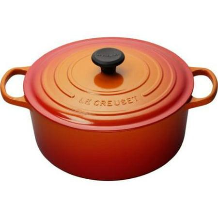 Le Creuset 7.25 Qt Oven Flame LS2501282 Le Creuset Apple