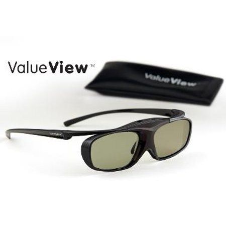 SAMSUNG-Compatible ValueView  3D Glasses. Rechargeable.