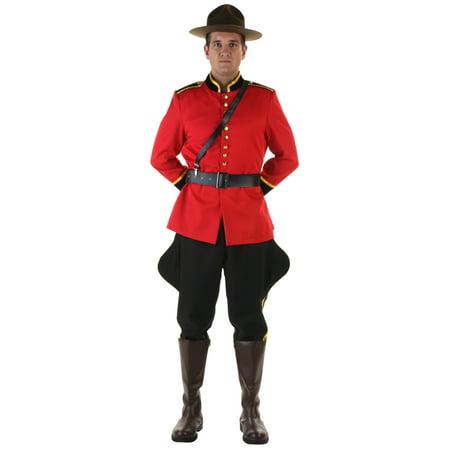 Men's Canadian Mountie Costume