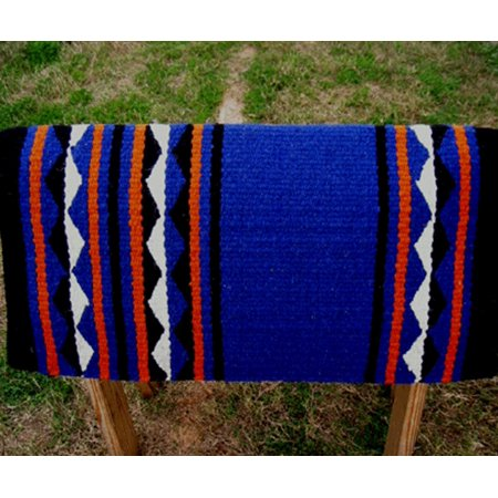 34x36 Horse Wool Western Show Trail SADDLE BLANKET Rodeo Pad Rug