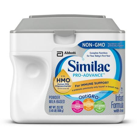 Similac Pro-Advance Infant Formula with 2'-FL Human Milk Oligosaccharide (HMO) for Immune Support, 23.2 ounces -  Abbott Laboratories,ABBN7, 0007007466080