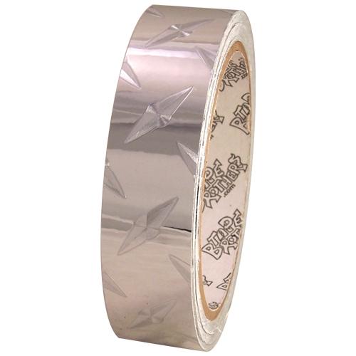 Tape Planet Diamond Plate Classic 1 inch x 10 yards Metalized PVC Tape