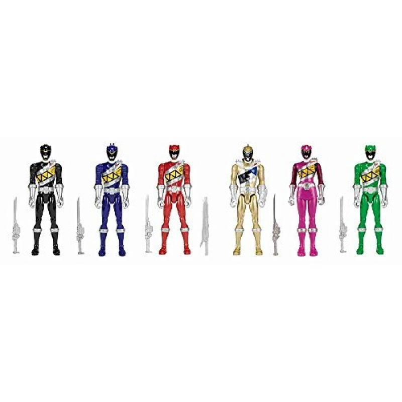 Bandai Power Rangers Dino Charge 12 inch Figure - 6 pack