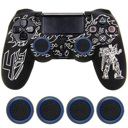 4x Rubber Stick Cover Thumb Grip Caps For PS3 PS4 Xbox One 360 Analog Controller Analog Compact Console