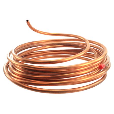 Copper Baffle Copper Flange - 1/4