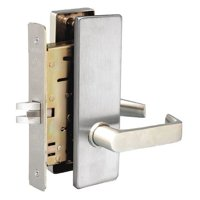 TOWNSTEEL MSE-14-S-626 Mortise Lockset, Lever, MS Sentinel, Ser. MS, Grd. 1,