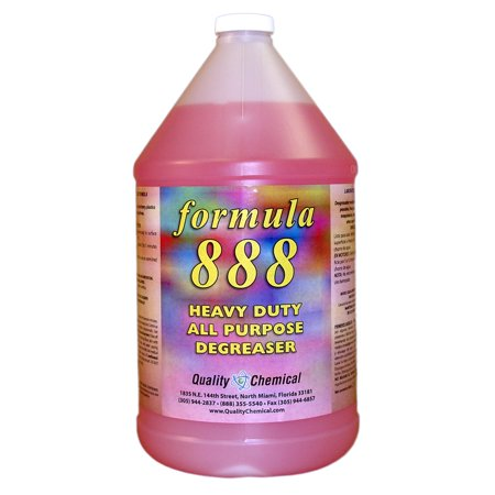 Formula 888-powerful, fast acting, degreaser-cleaner - 1 gallon (128