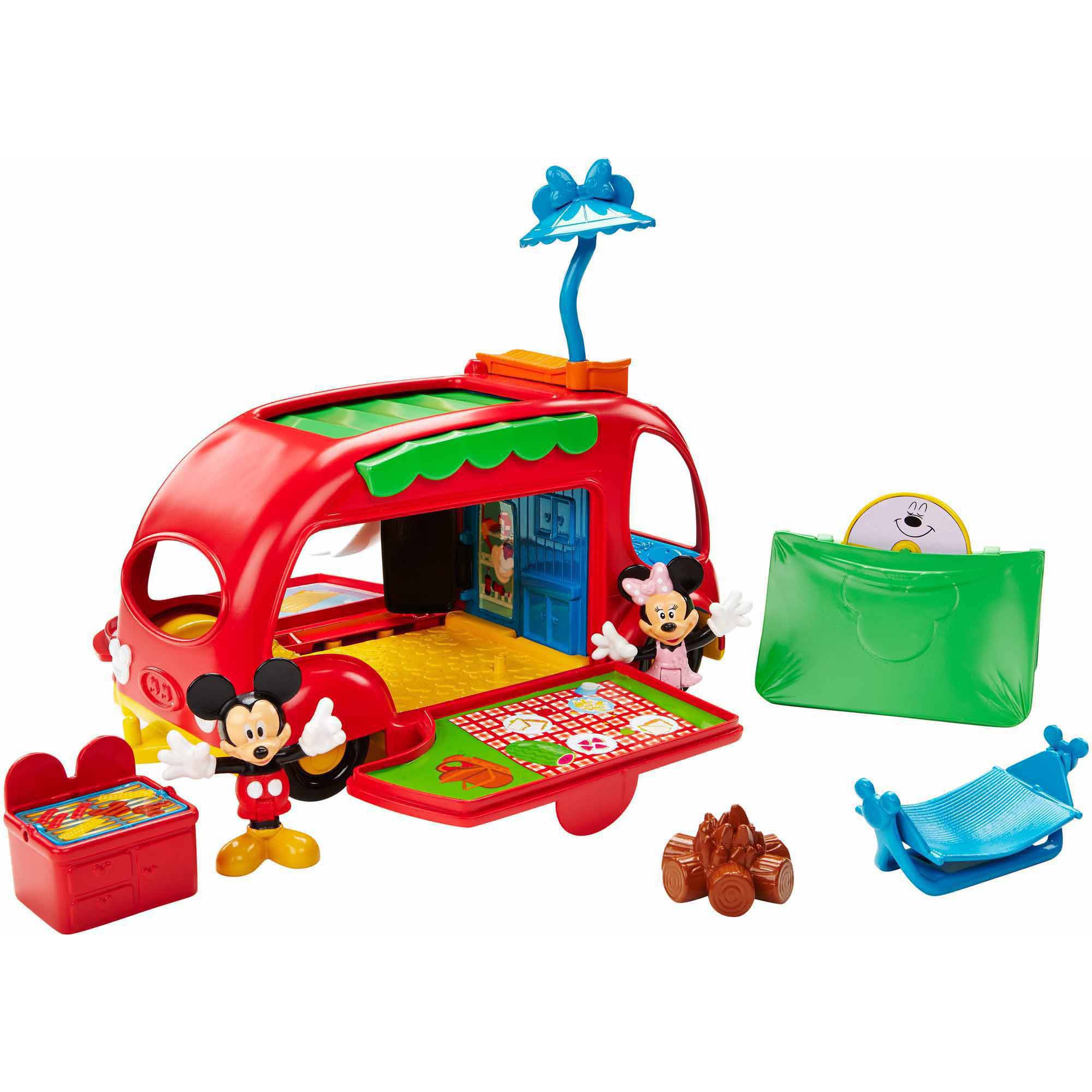 Disney Mickey Mouse Clubhouse Cruisin Camper Walmart Com