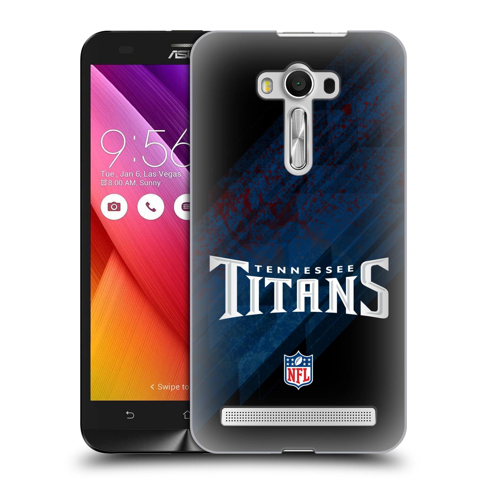 OFFICIAL NFL TENNESSEE TITANS LOGO HARD BACK CASE FOR ASUS ZENFONE PHONES