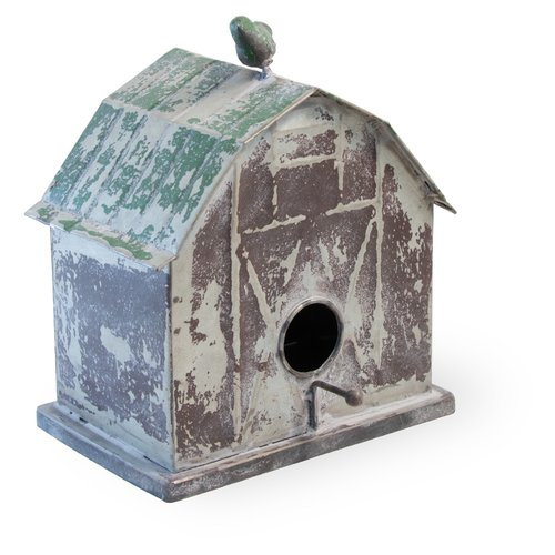 Boston International Barn 9.5 in x 7 in x 8 in Birdhouse