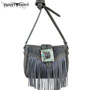 TR30-8287  Montana West Trinity Ranch Fringe Design Handbag