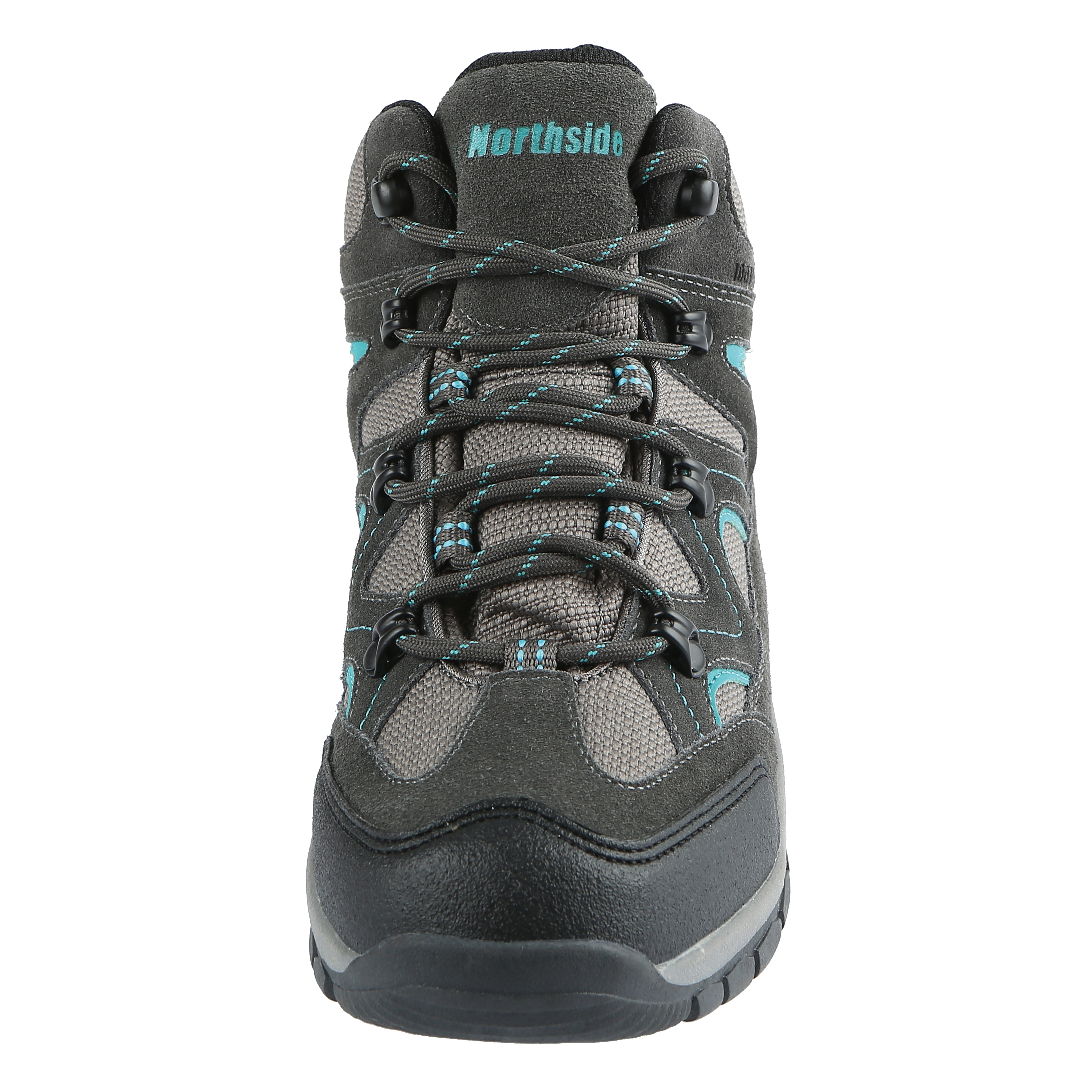 Northside Womens SNOHOMISH, Dk Gray/Dk Turquoise, 6