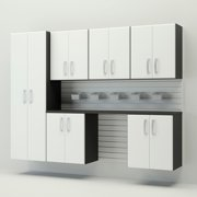 Flow Wall Systems Flow Wall 8-piece Deluxe Cabinet Set