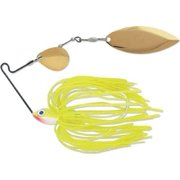 Terminator Super Stainless Spinnerbait-Colorado/Willow, Gold/Gold Blade (Sharp Chartreuse , 3/8-Oun Multi-Colored