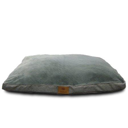 Stupendous American Kennel Club Memory Foam Sofa Pet Bed Gray Creativecarmelina Interior Chair Design Creativecarmelinacom