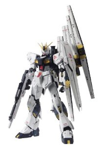 Bandai Hobby Nu Gundam Version KaChars Counterattack 1 100 Master Grade Multi-Colored by Bandai Hobby