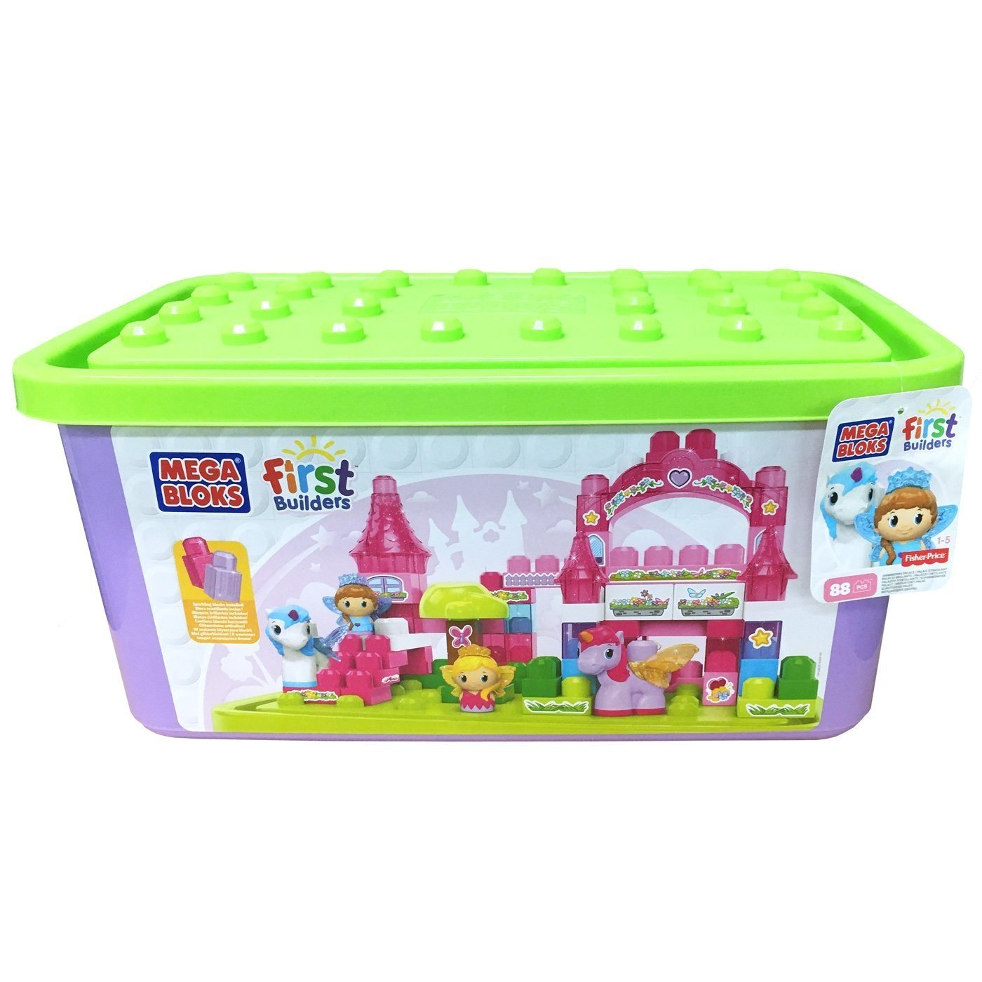 Mega Bloks First Builders Lil' Princess Shimmering Palace by Mattel