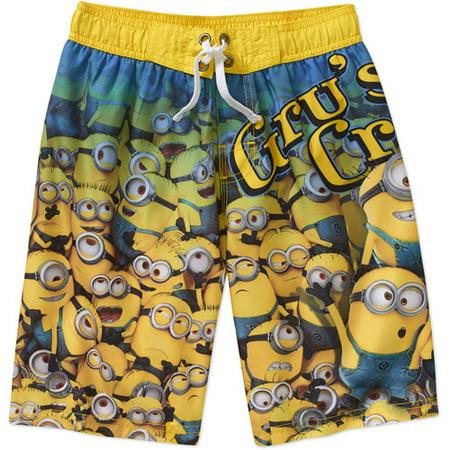 3e5ddde559e98 Minions - Boys Swimwear - Walmart.com