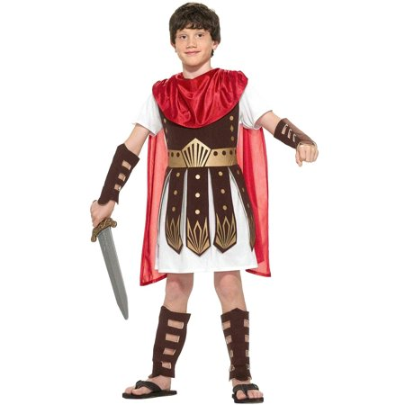 Roman Warrior Soldier Costume Child - Childrens Roman Soldier Costume
