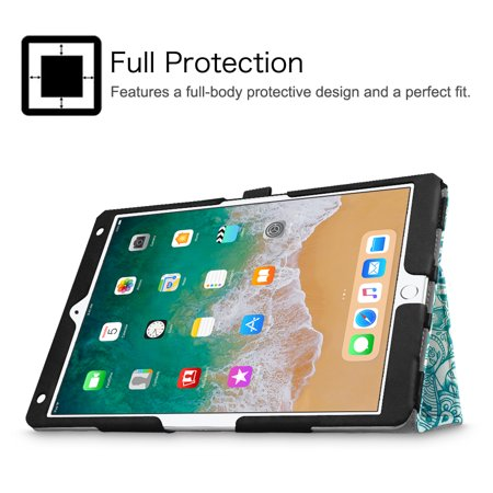 Fintie iPad Air 3 2019 Case / iPad Pro 10.5-inch Folio Tablet Cover with Auto Sleep / Wake, Emerald Illusions - image 3 of 7