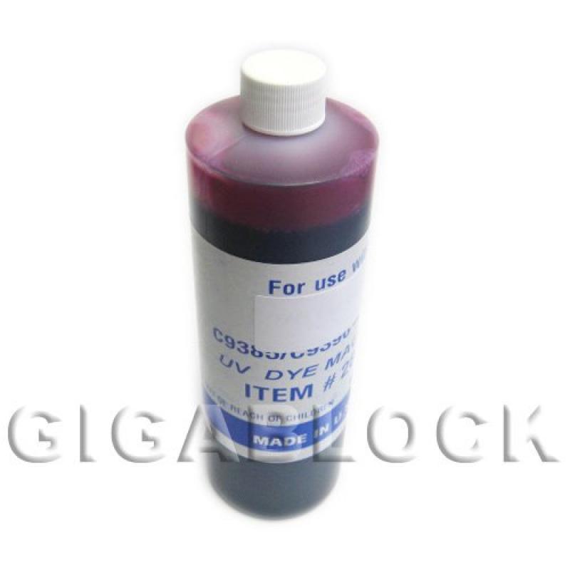 Gigablock UV Dye Based Bulk Pint(470ml) Magenta Refill In...