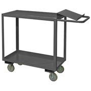 DURHAM MFG OPC-1836-2-95 14 ga. Steel Order Picking Stock Cart 1200 lb.
