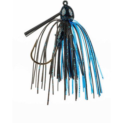 Strike King Bitsy Bug Jig, Black/Blue