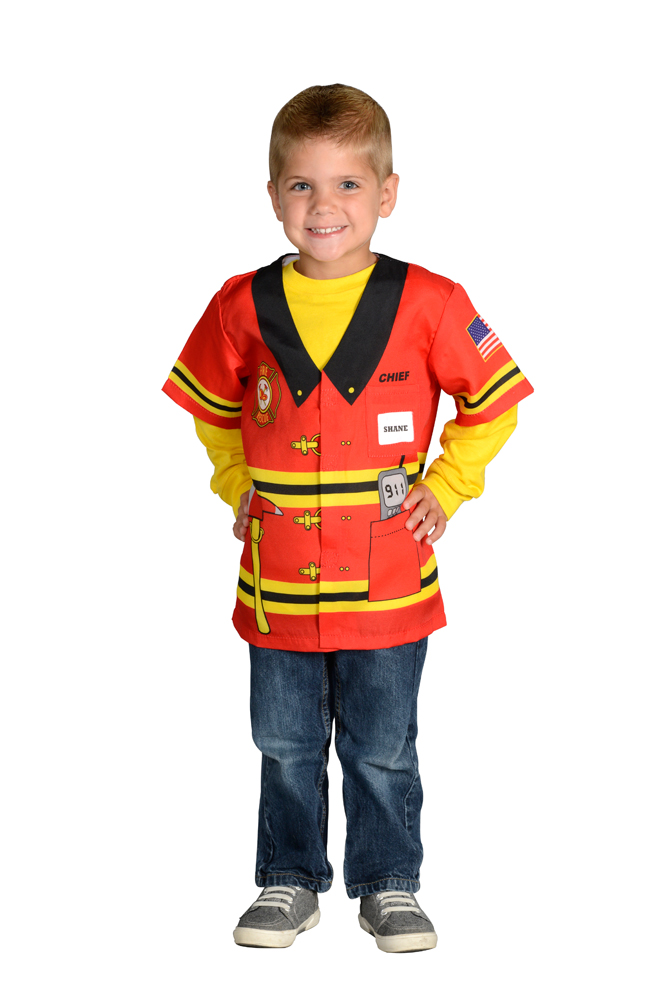my first career gear firefighter toddler halloween costume size 3t 4t walmartcom - Fireman Halloween