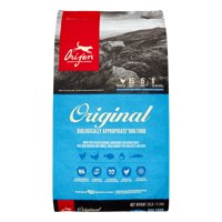 Orijen Original Biologically Appropriate Grain-Free Chicken, Turkey & Fish Dry Dog Food, 25 lb