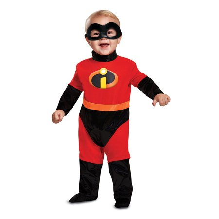 Violet Girls Infant Superhero Deluxe Costume-6-12 Mon](Violet Costume)