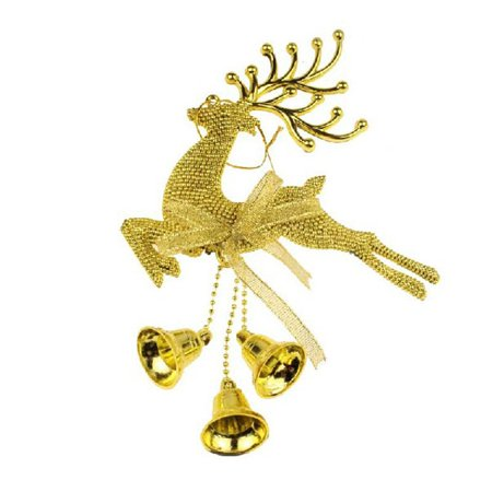 Jingle Bell Hanging - Christmas Tree Hanging Elk Bells Jingle Pendant Party Decoration Ornaments Xmas