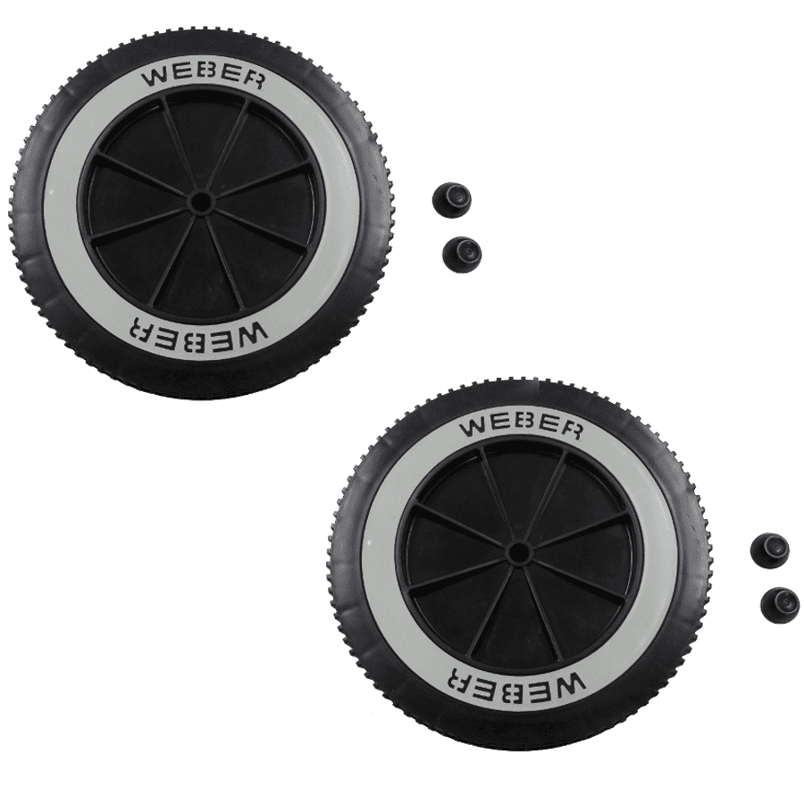 Weber # 65930 6 Replacement Wheel For Charcoal Grills,