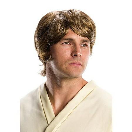 Luke Skywalker Star Wars Adult Wig R33599/119](Luke Skywalker Wig)