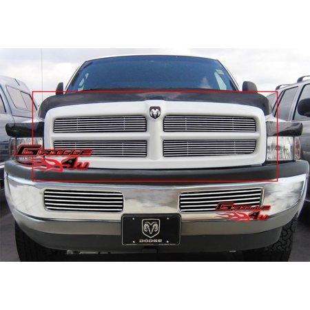 - Fits 94-01 Dodge Ram Pickup Billet Grille Insert