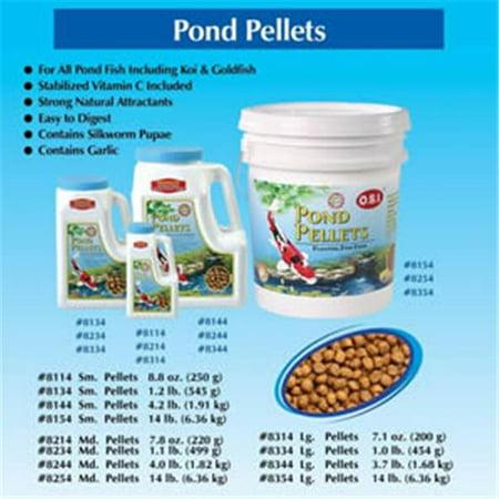 Imperial Garden Products 451 08314 Imperial Garden Products Osi Pond Pellets Floating Fish Food Large 7  1Oz
