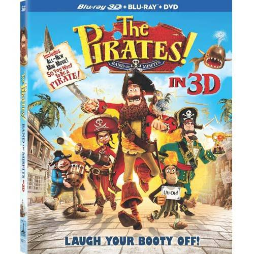 The Pirates! Band Of Misfits (3D Blu-ray + DVD) (Widescreen)
