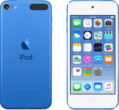 Apple iPod Touch 6th Generation 16GB Blue -Like New, No Retail Packaging