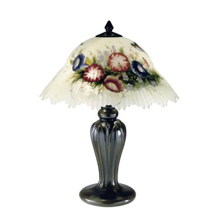 Bird Table Lamp - Dale Tiffany Hummingbird Flower Table Lamp