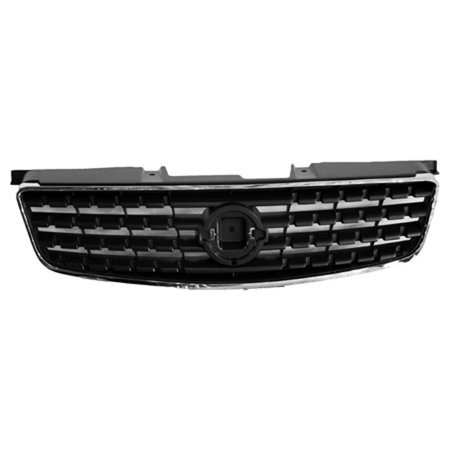 CPP Gray Grill Assembly for 2005-2006 Nissan Altima Grille