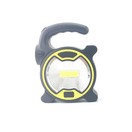 Solar Portable Rechargeable Emergency Searchlight LED Camping Light Outdoor Work Spot - Portable Searchlight