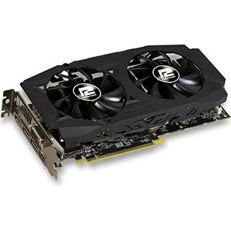 PowerColor AXRX 580 8GBD5-3DHDV2/OC AMD Radeon RX 580 8GB Red Dragon V2  Graphics Card