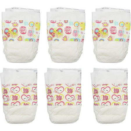 Baby Alive Diapers Pack - Walmart.com cc9e0a31be