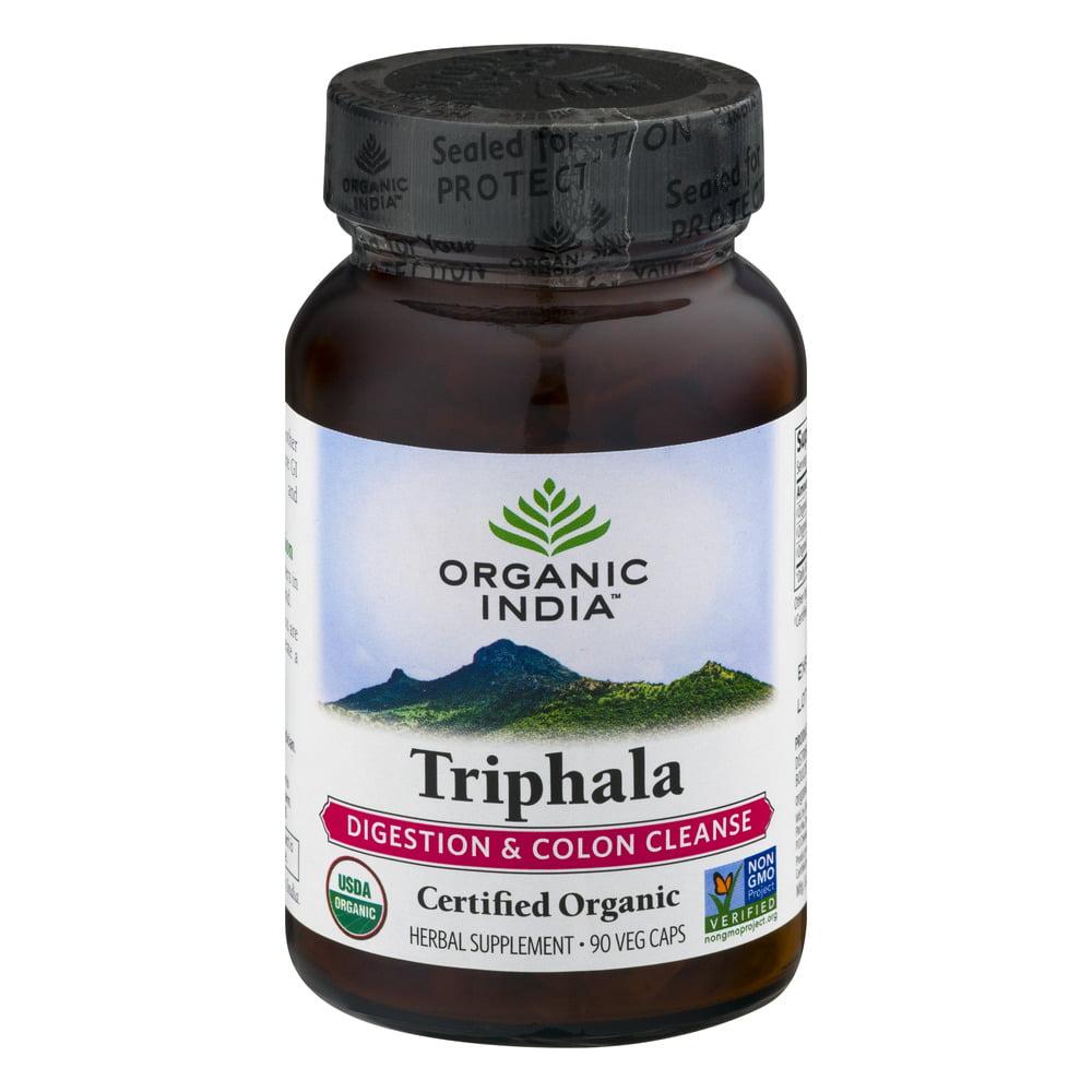 Organic India Triphala, Vegetarian Capsules