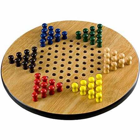 Sterling Games Wooden Chinese Checkers