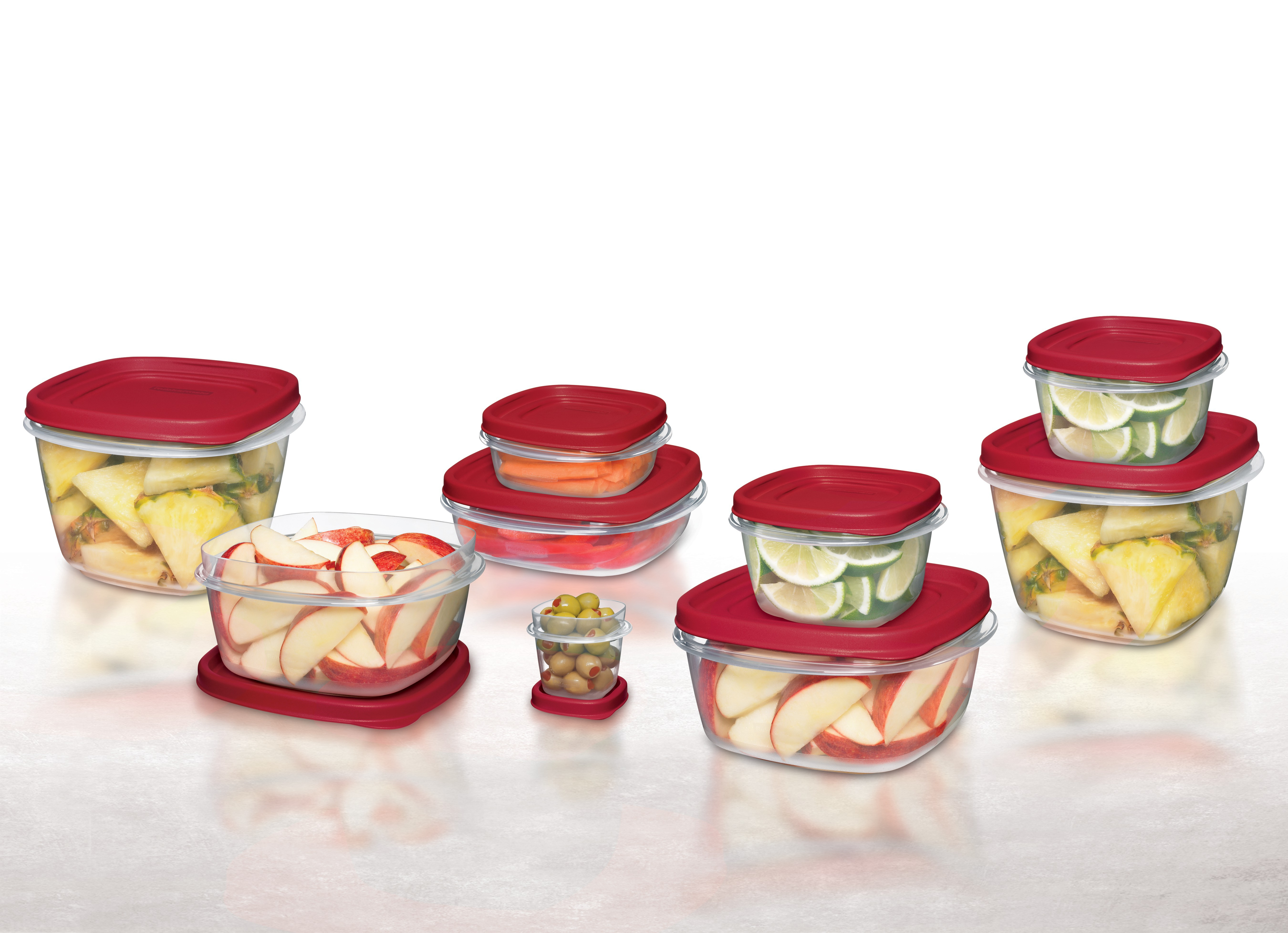Charmant Rubbermaid Food Storage Containers With Easy Find Lids, 24 Piece Set    Walmart.com